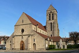 The church of Sucy-en-Brie, an historical monument
