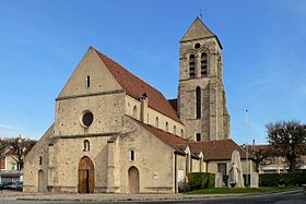 L'église, inscrite aux monuments historiques