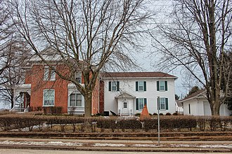 National Register of Historic Places listings in Grant County, Wisconsin - Image: L. J. Arthur House