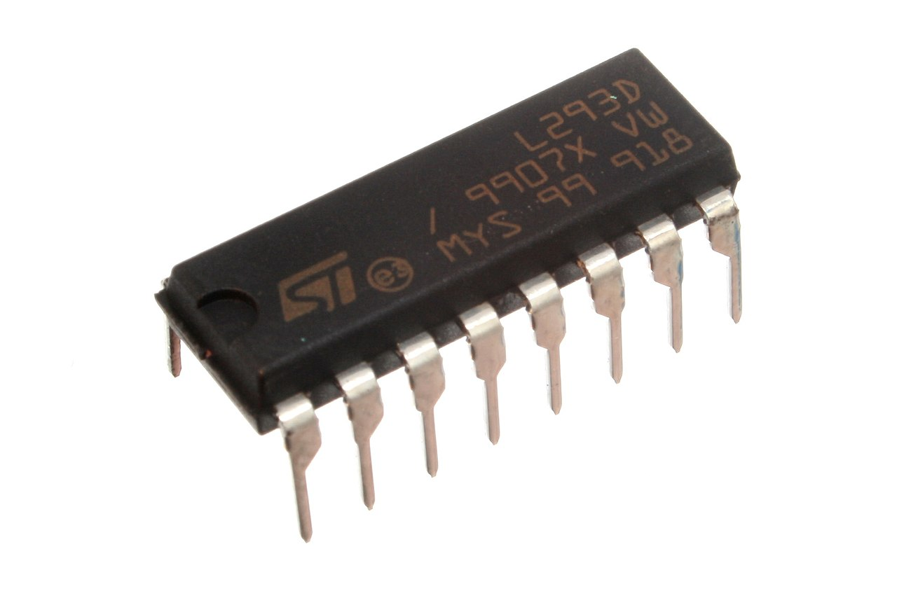 Filel293d Motor Driver Wikimedia Commons L293d Circuit
