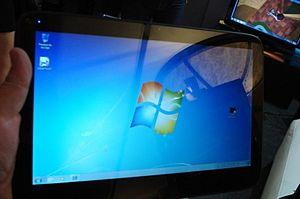 Lanix - Lanix W10 tablet PC running Windows 7