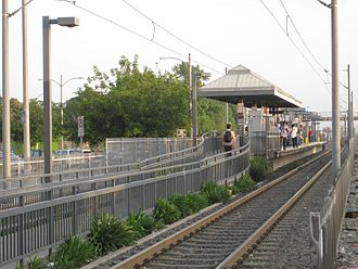 Florence station (Los Angeles Metro) - A view of Florence Station