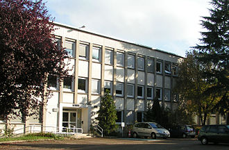 Laboratoire d'informatique pour la mécanique et les sciences de l'ingénieur - LIMSI's building.
