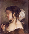 La Reflexion or La Méditation by Gustave Courbet.png