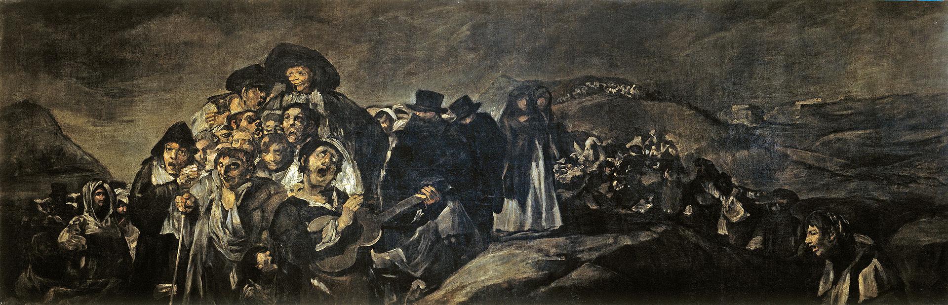 Goya: La romería de San Isidro
