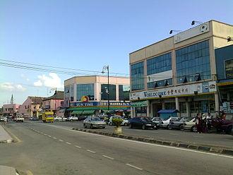 Labis - Image: Labis Town