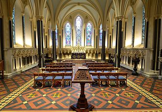 Lady chapel - Lady chapel of St Patrick's Cathedral, Dublin