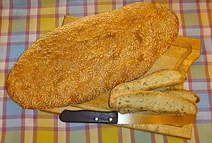 Clean Monday - Lagana bread