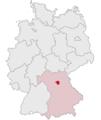 Lage des Landkreises Forchheim in Deutschland.png