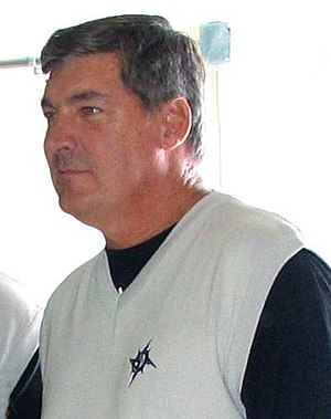 Bill Laimbeer - Laimbeer in 2007 as Detroit Shock  head coach.
