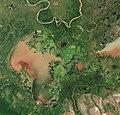 Lake Claire (Alberta) by Sentinel-2 (Original 10m Res).jpg
