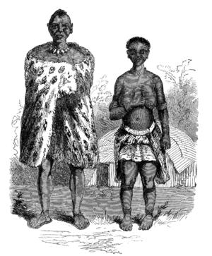 Yeyi people - Yeyi people (described as Bayeye), 1861