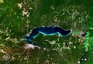 Lake Peten Itza NASA.jpg