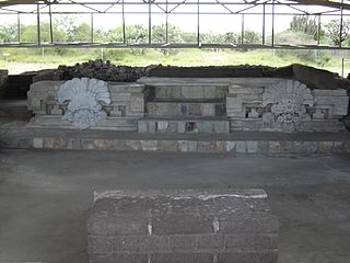 Lambityeco small archaeological site in the Mexican state of Oaxaca