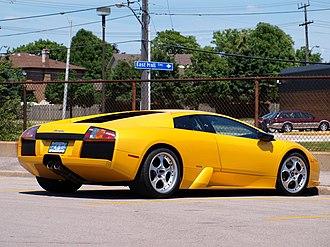 Lamborghini Murciélago - rear view