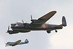 Lancaster & Spitfire - Duxford 2008 (2502091317).jpg
