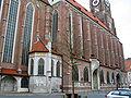 Landshut St Martin Choir Northern Aisle Outer Wall.jpg