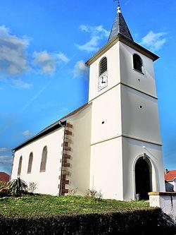 Languimberg. Eglise saint Adelphe. 2016-03-26.JPG