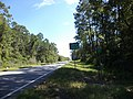Lanier County border, US221NB.JPG