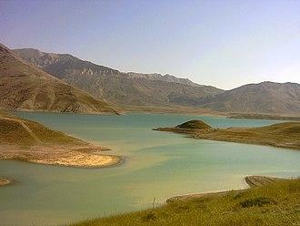 Lar Dam - Lar Lake
