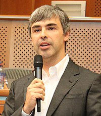 Larry Page Larry Page in the European Parliament, 17.06.2009 (cropped).jpg