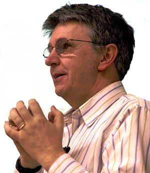 László Lovász - László Lovász speaking in 2007 at the EPFL