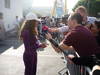 La Toya Jackson - La Toya Jackson on October 18, 2009 at an AIDS Walk in Los Angeles