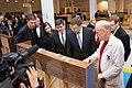 Latvijas delegācija iepazīstas ar klavieru ražotni (8232175166).jpg
