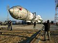 Launch Vehicle Arrival, Proton-M.jpg