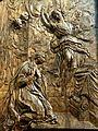 Lavilletertre (60), église Notre-Dame-de-la-Nativité, chœur, bas-relief - L'Annonciation 2.JPG