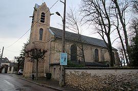 Die Kirche in Le Mée-sur-Seine