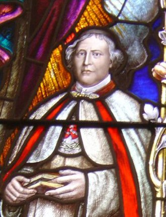 Roman Catholic Bishop of Honolulu - The first bishops were members of the Congregation of the Sacred Hearts of Jesus and Mary. The founder of their order, Pierre Coudrin, is honored with a Cathedral of Our Lady of Peace stained glass window.