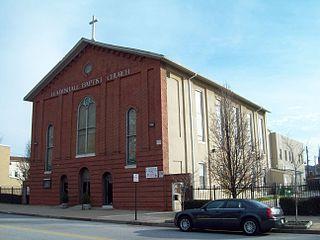 Leadenhall Street Baptist Church church building in Baltimore, United States of America