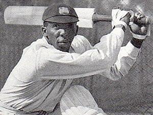 Learie Constantine - Constantine batting in Australia in 1930