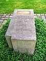 Leipzig Südfriedhof - Gedenkstein Marinus van der Lubbe 2.jpg