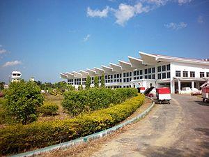 Lengpui Airport - Lengpui airport terminal building
