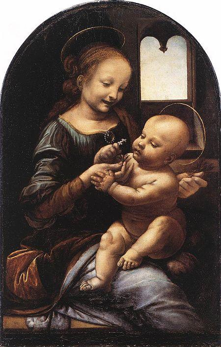 https://upload.wikimedia.org/wikipedia/commons/thumb/e/ec/Leonardo_da_Vinci_Benois_Madonna.jpg/450px-Leonardo_da_Vinci_Benois_Madonna.jpg