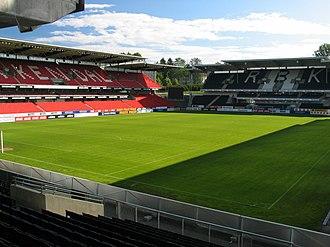 Lerkendal Stadion - Image: Lerkendal Stadion Trondheim