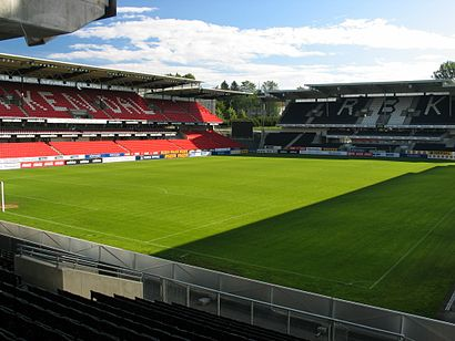 How to get to Lerkendal Stadion with public transit - About the place