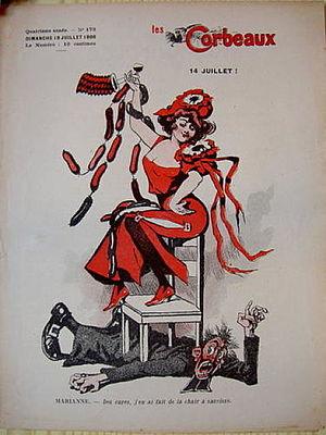 Didier Dubucq - Les Corbeaux, n°173, 13th July 1908.