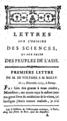 Letter of Voltaire - Lettres sur l'origine des sciences.png