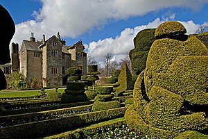 Levens Hall - Topiary at Levens Hall