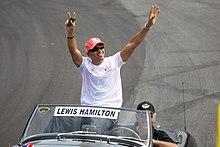 Hamilton al GP del Canada 2008.