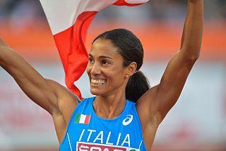 Libania Grenot Italian sprinter