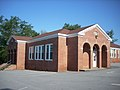 Liberty Colored High School, now Rosenwood Center, Liberty (Pickens County, South Carolina).JPG