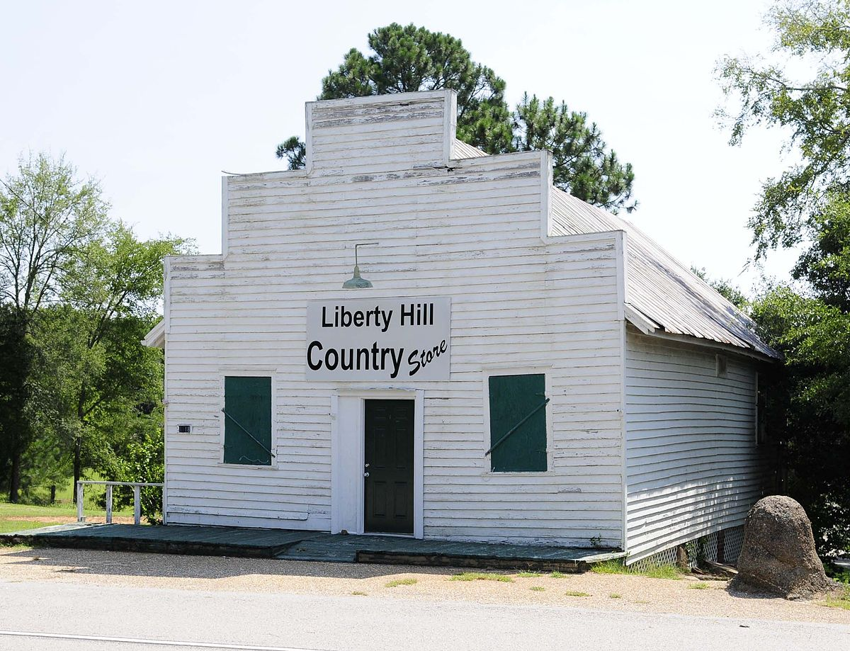 Liberty hill historic district wikipedia for Liberty hills