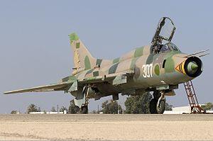 Libyan Air Force - Former LARAF Sukhoi Su-22M3 Fitter-H