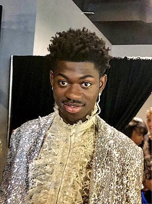 Lil Nas X back stage at the MTV Video Music Awards 2019.jpg
