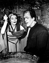 Lily and Herman Munster 1964