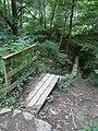 Linacre - Wooden Footbridge - geograph.org.uk - 546523.jpg